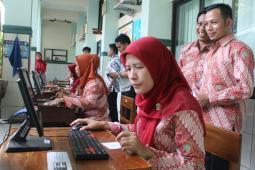 Pemilihan OSIS SMP IT PAPB sudah Online